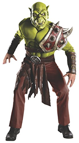 Wow orc costumes for halloween or cosplay webnuggetz world of warcraft adult orc set green standard solutioingenieria Choice Image