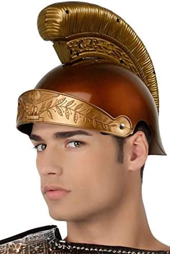 Roman Gladiator Warrior Men/'s Fancy Dress Costume
