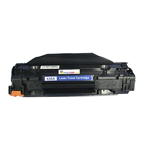 Ink & Toner Geek - Compatible Replacement Toner Cartridge for HP CB436A Black Toner Cartridge 36A 436A For Use With HP LaserJet M1522n MFP LaserJet M1522nf MFP Laserjet P1505 Laserjet P1505n
