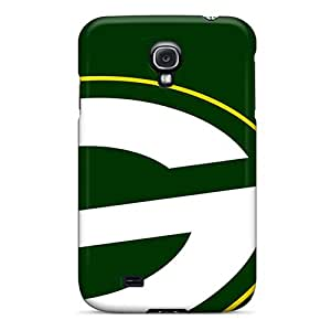 Rugged Skin Case Cover For Galaxy S4- Eco-friendly Packaging(green Bay Packers)