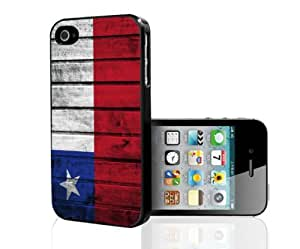 Chile Flag Red White and Blue Wood Grunge Hard Snap on Phone Case Cover iPhone i5 5s