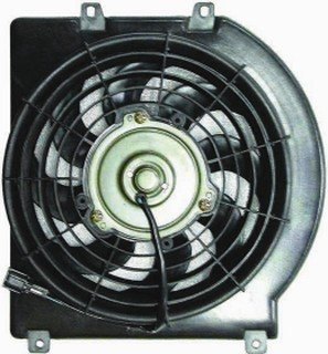 QP I710J-a Isuzu Rodeo Replacement AC A/C Condenser Cooling Fan/Shroud Assembly
