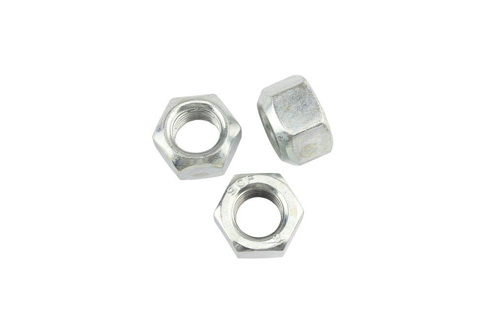 100 Stk DIN 980 Sicherungsmutter M5 - Stahl verzinkt - Festigkeit 8 Schrauben.Expert