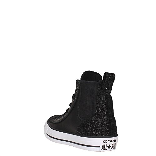 CONVERSE 555170C ALL STAR HI BLACK SNEAKERS Damen BLACK 38