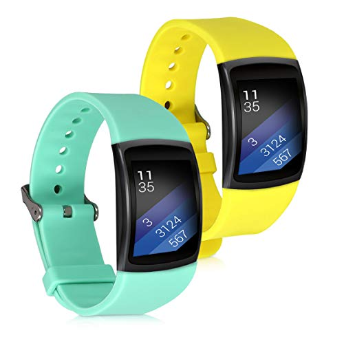 kwmobile Silicone Watch Strap for Samsung Gear Fit2 / Gear F