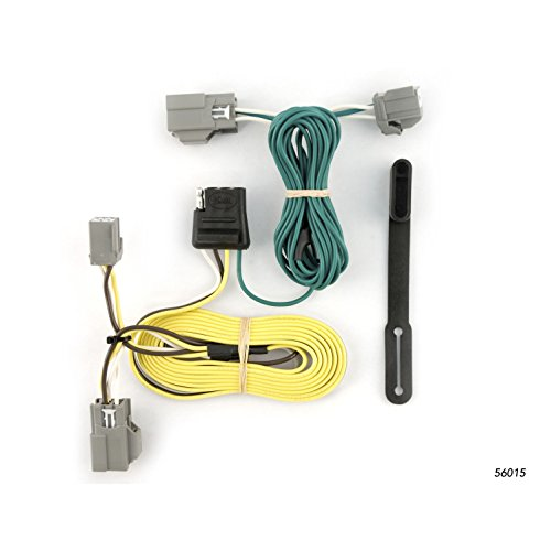 CURT 56015 Vehicle-Side Custom 4-Pin Trailer Wiring Harness for Select Ford - Taurus Wiring Ford
