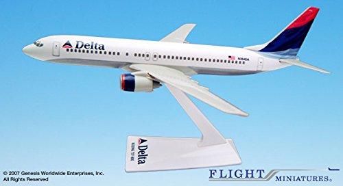 Flight Miniatures Delta Airlines 2000 Boeing 737-800 1:200 Scale REG#N394DA Display Model