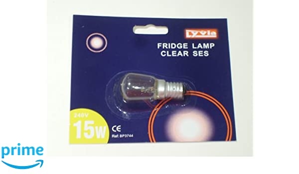 Nevera luz bombilla l/ámpara 15/W 240/V clara SES