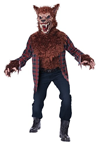 California Costumes Men's Blood Moon-Brown, red, Large/X-Large ()