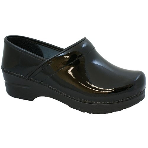 - Sanita Patent Black in Patent Leather