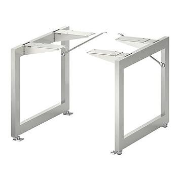 IKEA LIMHAMN Beine aus Edelstahl; (28x35cm); 2 Stück: Amazon.de ...