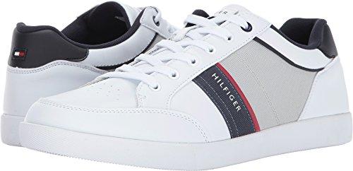 Tommy Hilfiger Men's TODRICK Shoe, white, 9.5 Medium US