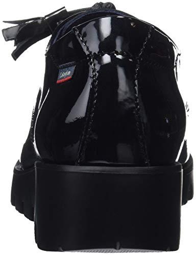 Donna Scarpe 1 Derby Haman Black CALLAGHAN Stringate Nero v748Wqw