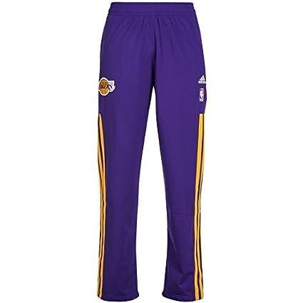 75729b62c5 adidas NBA cálida de Up Pants Pantalones de Entrenamiento de Baloncesto y  la Lakers Chicago Bulls