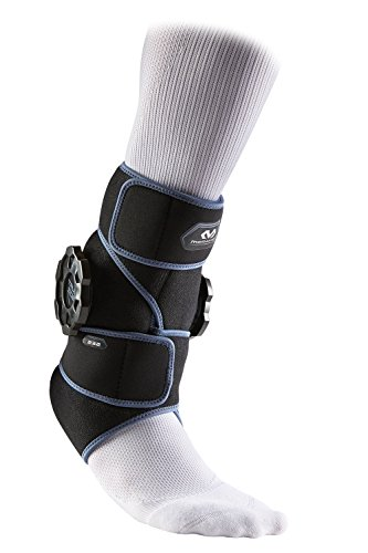 McDavid Ankle Ice Wrap, Ice with Compression for Ankle w/Reusable Ice Pack, Cold Therapy for Sprains, Muscle Pain, Bruises & Inflammation -