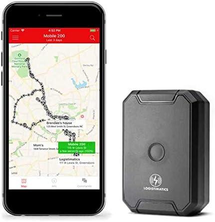 Amazon.com: Logistimatics Mobile-200 GPS Tracker with Live Audio ...