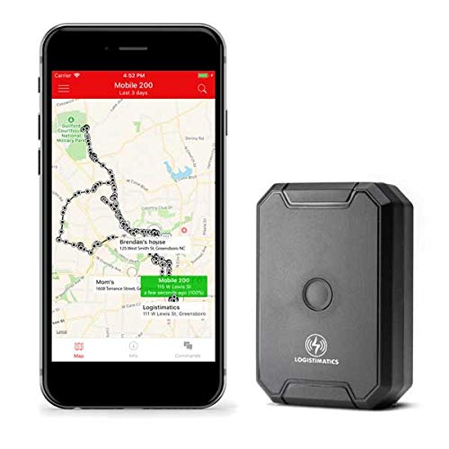 Logistimatics Mobile-200 GPS Tracker with Live Audio Monitoring