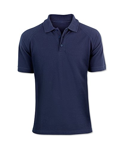 Alexandra stc-nm168na-l Portwest Herren Polo Shirt, Uni, 60% Baumwolle/40% Polyester, Größe: L, Navy