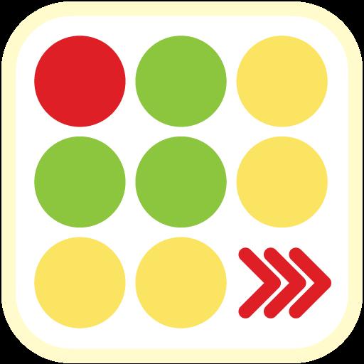 Line Up the Dots Tile Dot Mix