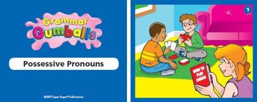 Amazon.com: Grammar Gumballs Board Game & Printable CD-ROM - Super ...