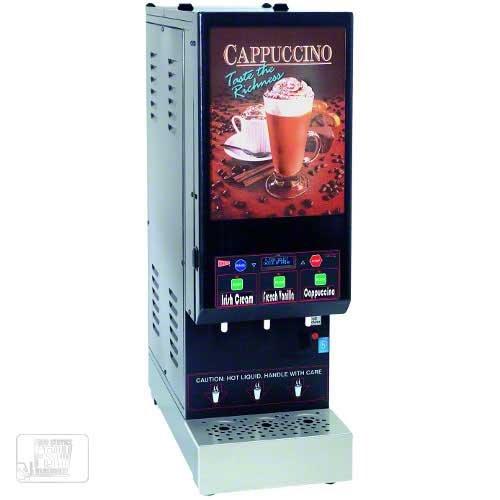 Cecilware (GB3M10-IT-LD-C) - Three-Flavor Cold Cappuccino Dispenser - IT Series