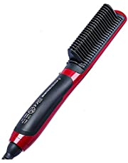 جهاز فرد الشعر - يحتوي على عزل حراري قابل للتعديل وسريع التسخين لفرد الشعر