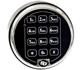 united commerce group - S&G 6120-210 Replacement Electronic Chrome KEYPAD ONLY