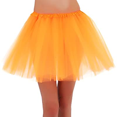 Tutus for Girls Tulle Skirt 3 Layered Ballerina Running Party Skirt - 21 Colors for Choice