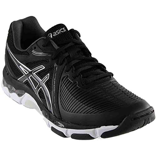 best website 8afb6 6ca4e ASICS Womens Gel-Netburner Ballistic Volleyball Shoe, Black Dark Grey White,