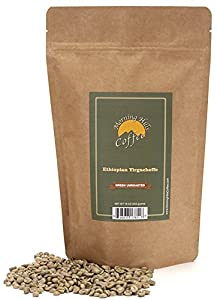 Ethiopian Yirgacheffe Green Unroasted Coffee Beans