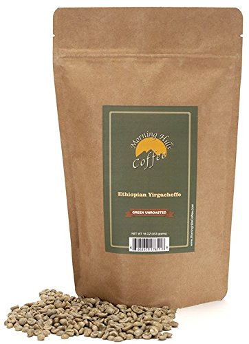 Ethiopian Yirgacheffe Green Unroasted Coffee Beans 1 (Best Green Coffee Beans)