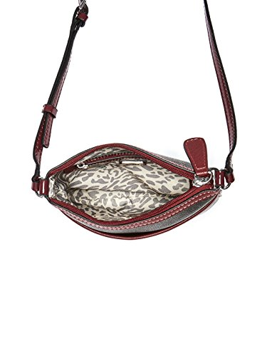 GUESS Logo Faux Women's Bag Crossbody Leather Burnley Factory qwCqxSXr
