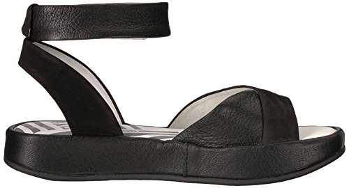 Schwarz Strap Bibb854fly Womens Sandalen Ankle London Fly zp1IYw