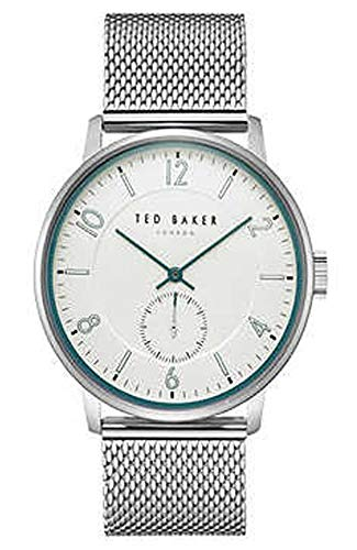Ted Baker TE50278005 Men's 43mm Stainless Steel Mesh Band Watch