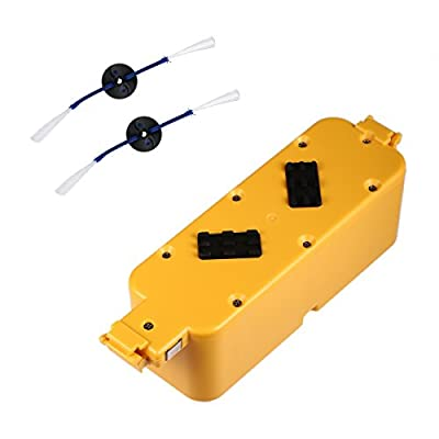 Powerextra Roomba 3.5Ah Battery for Irobot Roomba 400 405 410 415 416 418 4000 4100 4105 4110 4130 4150 4170 4188 4210 4220 4225 4230 4232 4260 4296 Dirt Dog Discover Scheduler