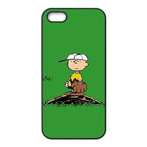 iPhone 5 5S Teléfono Funda Caso de la cubierta Negro Y0N8PU historieta del teléfono celular cubierta de la caja Funda Cubiertas