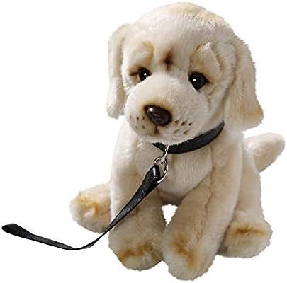 peluche chien animé avec laisse