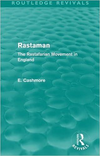 Rastaman (Routledge Revivals): The Rastafarian Movement in England