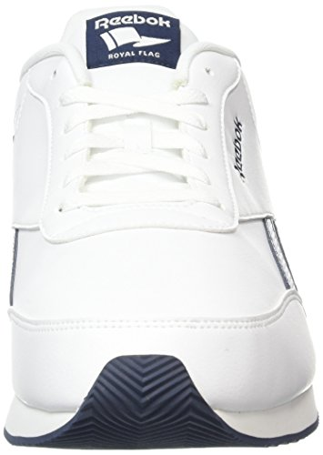 000 Blanc Reebok Homme Navy Cl Multicolore Royal collegiate Chaussures Sport 2l De white Jog q6O8q4