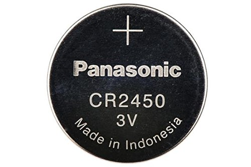 50 x CR2450 Panasonic 3 Volt Lithium Coin Cell Batteries