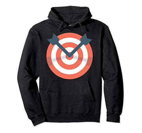 Archer Bow Shooting Hoodie - Funny Archery Target Gift Idea ()