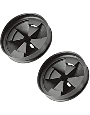 Garburator Splash Guard for Compatible with InSinkErator Baffle QCB-AM Anti-Microbial Quiet Collar Sink Baffle Rubber Garbage Stopper - 2 Pack