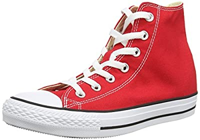 Converse Chuck Taylor All Star High Top Core Colors (8.5 D(M) US, Red)