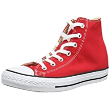 Converse CT All Star Core Hi Red Womens Trainers - M9621