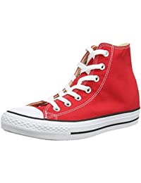 Unisex Chuck Taylor All Star Hi-Top Shoes, Maroon, 8.5...