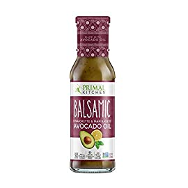 Primal Kitchen - Caesar, Avocado Oil-Based Dressing and Marinade 2 MADE WITH REAL INGREDIENTS: real food ingredients only. Nothing synthetic or artificial. WHOLE30, KETO & PALEO FRIENDLY: Primal Kitchen Dressings are Whole30 compliant, Paleo/Primal approved and Keto friendly. AVOCADO OIL BASED: Infused with Monounsaturated Fats from Avocado Oil