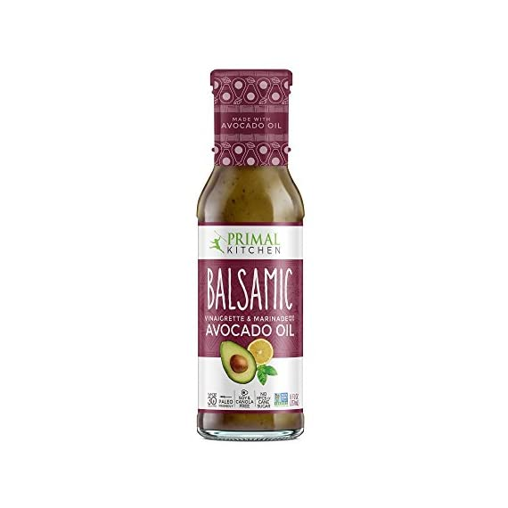 Primal Kitchen - Caesar, Avocado Oil-Based Dressing and Marinade 1 MADE WITH REAL INGREDIENTS: real food ingredients only. Nothing synthetic or artificial. WHOLE30, KETO & PALEO FRIENDLY: Primal Kitchen Dressings are Whole30 compliant, Paleo/Primal approved and Keto friendly. AVOCADO OIL BASED: Infused with Monounsaturated Fats from Avocado Oil