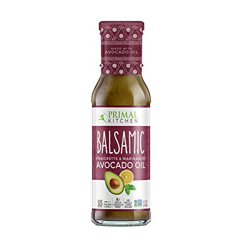 Primal Kitchen - Avocado Oil-Based Dressing and Marinade, Balsamic Vinaigrette, Pack of 1, Whole30 and Paleo Approved