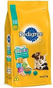 Ração Para Cachorros Pedigree Filhotes Raças Pequenas 2,7kg