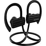 Bluetooth Headphones, GGMM Noise Cancelling Wireless Earbuds with Microphone Secure Earhook for iPhone